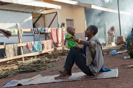 Cameroon - Care for malnourished CAR refugees