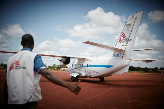 Doctors Without Borders in Central Africa Republic.