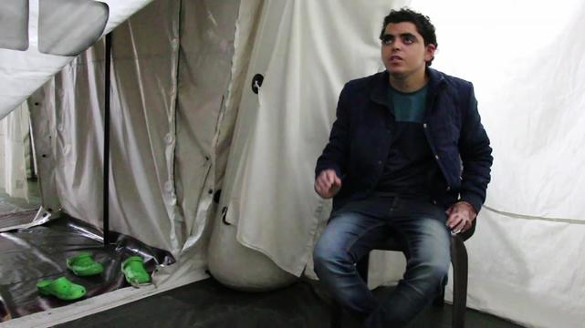 Nadir - patient story from Gaza (INT)