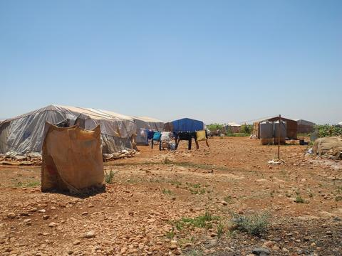 Syrian Refugees endure heatwave in Lebanon