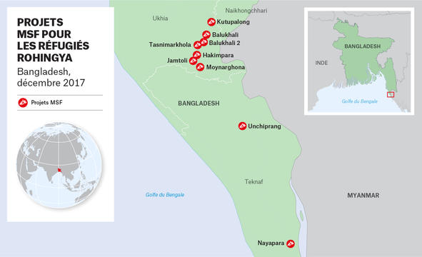 MSF activities in Bangladesh