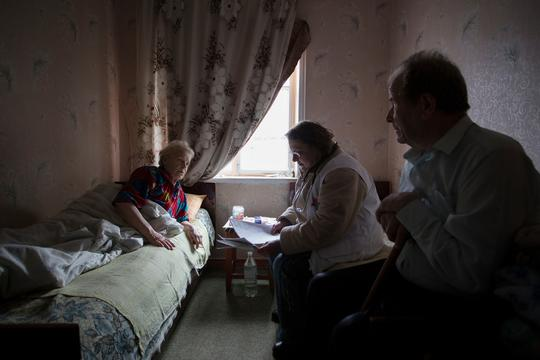 Home Visits and Mobile Clinic in Debaltseve