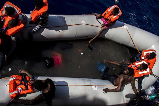 18 | MEDITERRANEAN SEARCH AND RESCUE – BORJA RUIZ RODRIGUEZ/MSF
