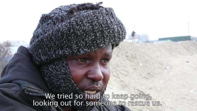 WEBCLIP: Mohammad, Sudanese refugee from Libya, now if Calais (ENG)