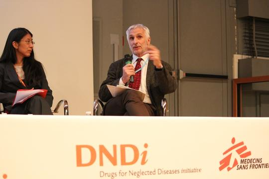 France, Paris, 10-year anniversary DNDi at Institut Pasteur, A. Bussotti / MSF, 5 dec 2013