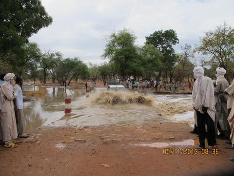 MSF emergency operation in and around Tissi