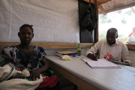 Providing care for South Sudanese refugees and Congolese returnees