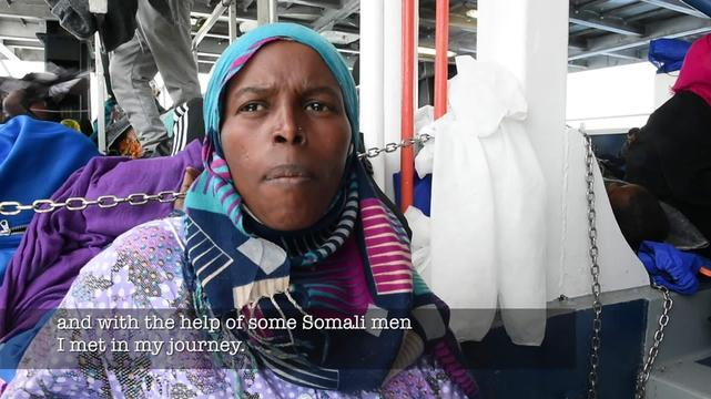 MSF SEARCH AND RESCUE_TESTIMONY AAsya SOMALI Eng Sub