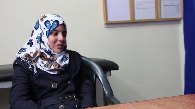 Iman - patient story from Gaza (INT)