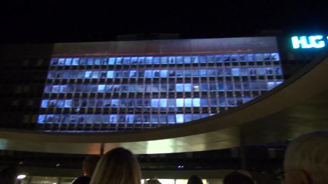 NotATarget Video Mapping - Geneva Hospital - INTER