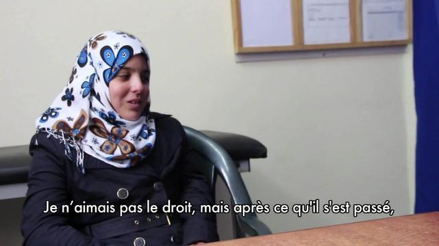 Iman - patient story from Gaza (FR)