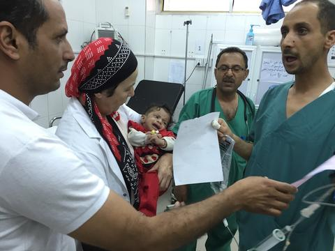 MSF Switzerland's projects in the Ibb Governorate / Yemen