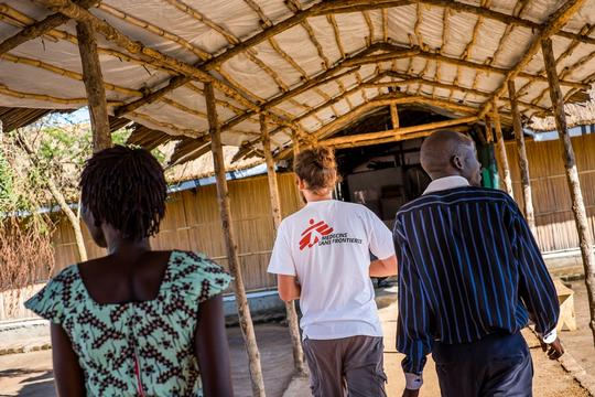 Ayilo MSF hospital, Adjumani