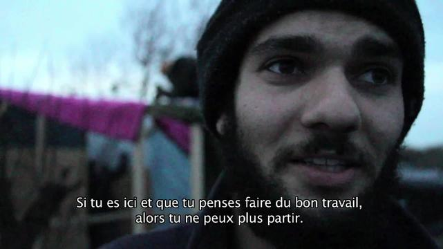 Webclip - Barbaby, volunteer in the Jungle, Calais (FR)