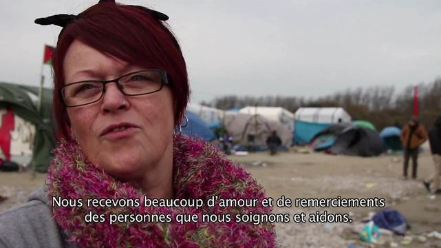 Webclip - Tracey & Tamar, British volunteers in the Jungle, Calais (FR)