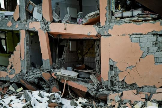 Turkey Quake Aftermath - November 2011