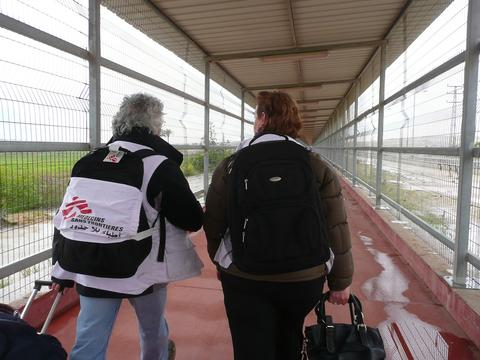 Palestinian Authority , MSF Hand Physiotheray care in Gaza, Michel Boutan/MSF, jan 12.