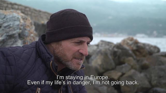 WEBCLIP. Stories from Samos. 44-year old Guhdar from Iraq (ENG)