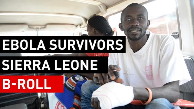 BROLL | Ebola survivors cope with lingering health issues and stigma