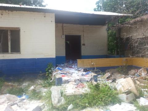 MSF Leer Clinic after looting July 2016