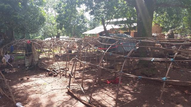 Zemio hospital deserted after armed men attacked the people sheltering there from violence.
