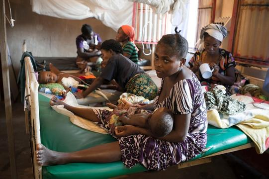 Baraka, South Kivu, DRC, March 2014. Josine Blanksma at work and in and around hospital.