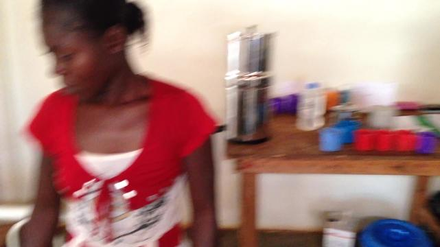 MSF treating children for malaria in CAR