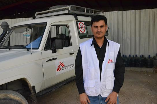 Salem Saleh, MSF Pharmacist