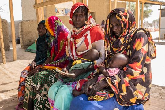 Medical and mental healthcare for people displaced by violence in the Lake Chad area.