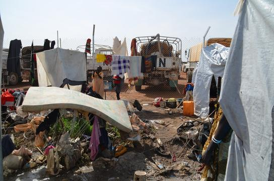 IDP Camp Tomping, Juba, South Sudan