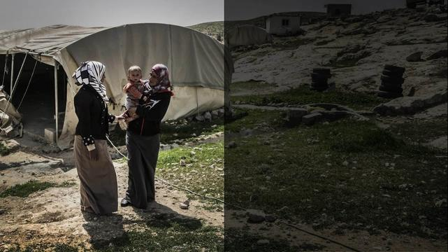 Palestinian Territories - Bedouins at the mercy of the Israeli army (INT)