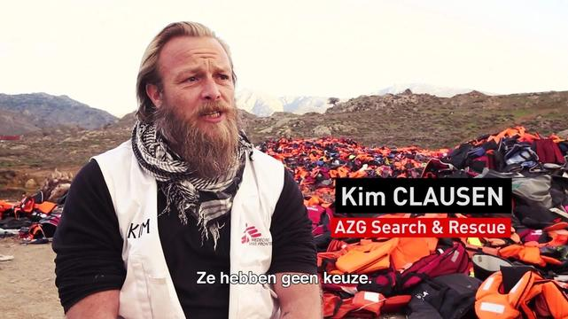 Lesbos lifejackets: Message to the EU | WEBCLIP DUTCH