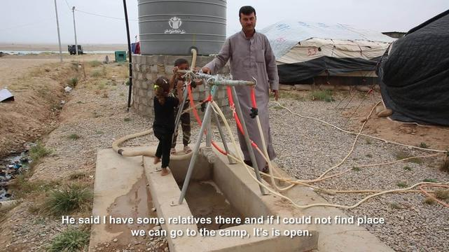 Iraq Displaced, Emad - ENG