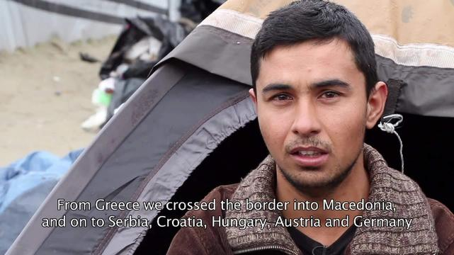Interview - Mohammad, Syrian migrant in Calais (ENG)