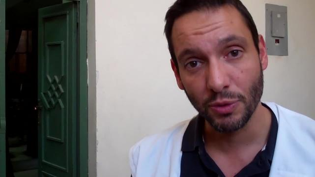 Cedric Dassas, emergency doctor, explains the need for training on Mass Casualty Response in Sana'a, Yemen (ENG)