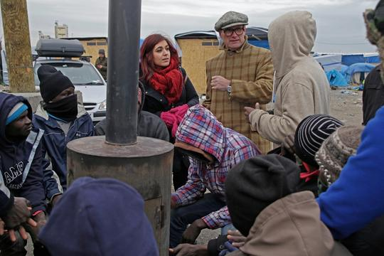 A.A.Gill_visits_Jungle refugee camp-Calais