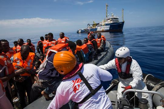 05 May - Dignity I search and rescue operations in the Mediterranean