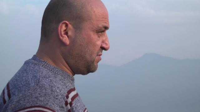 WEBCLIP. Stories from Samos. 37-year old Hassan from Syria (INT)