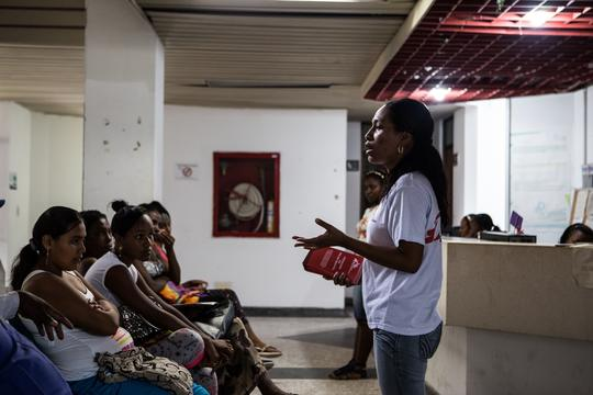 MSF assists survivors of violence in Tumaco, Colombia.