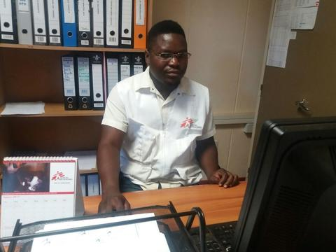 MSF Clinical Psychologist: Emmerson Gono in Harare, Zimbabwe.