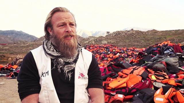 Lesbos lifejackets: Message to the EU | WEBCLIP INTERNATIONAL