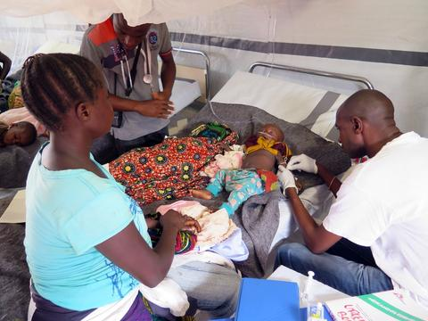 DRC: MSF responds to malaria outbreak in Pawa and Boma-Mangbetu