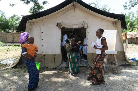 MSF activities in Manono