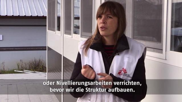 The new MSF quick, long-term modular health structure | German