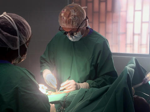 Liberia pediatric surgery