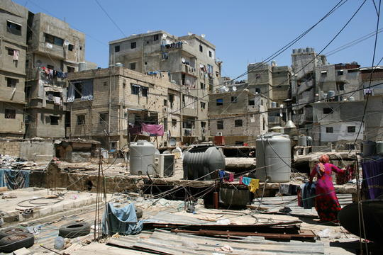 Shatila refugee camp
