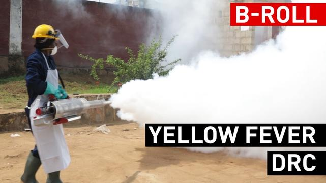 Fighting Yellow fever in DRC Broll - French