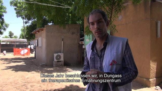 NIGER - Dungass Nutritional Center - GERMAN