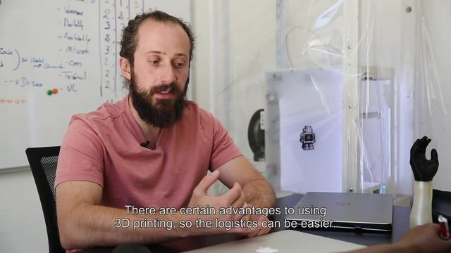 WEBCLIP: The MSF Foundation uses 3D technology for prosthetics - 01 (ENG)