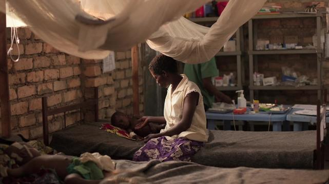 Webclip. Measles vaccination in Katanga. Emergency Response (INT)